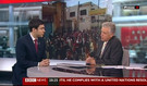 Ribal Al-Assad calls on the Syrian regime to set a clear timetable for reform in BBC News interview