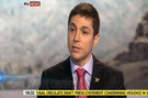 Ribal Al-Assad calls on the Syrian regime to halt the violence and to implement reforms in Sky News interview